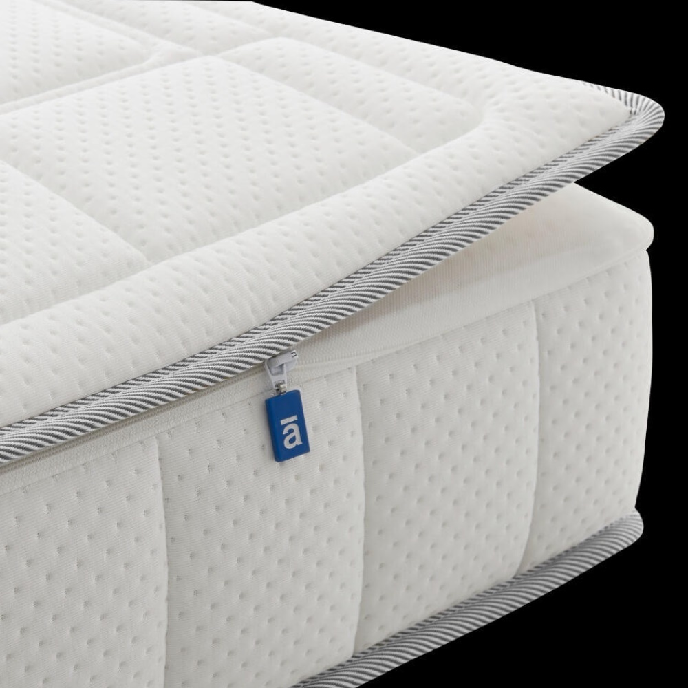 Een zipper van Auping op een Cresto pocket matras