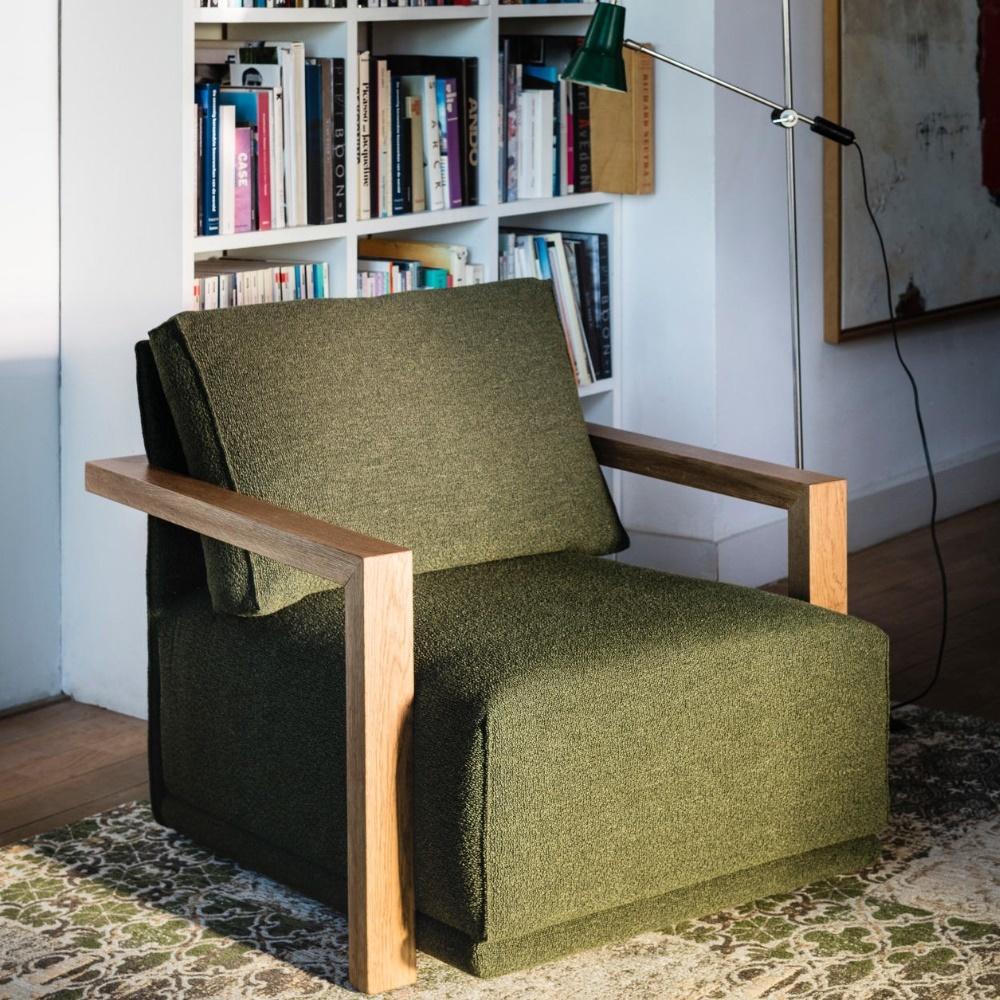 Groene Luigi fauteuil