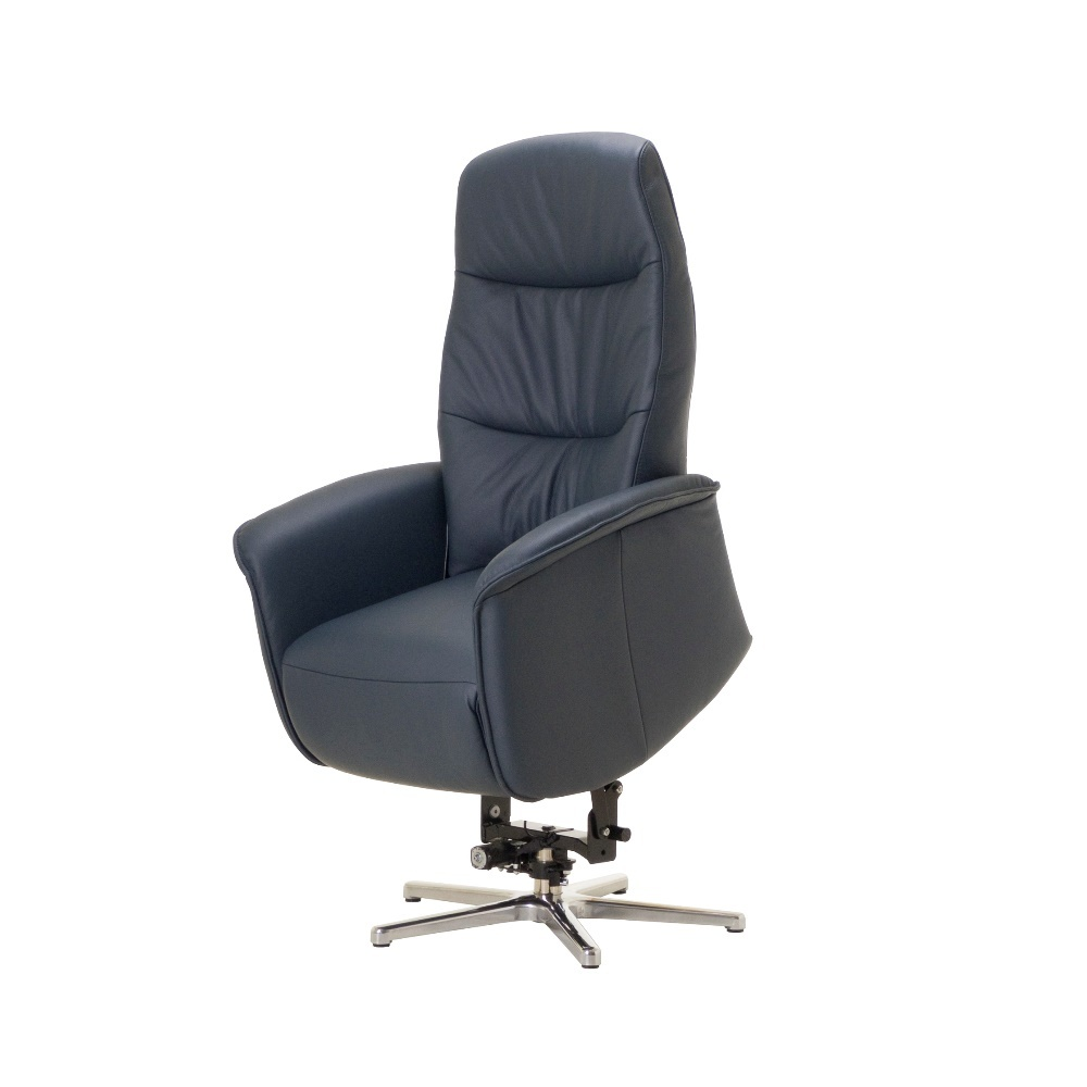 Donkerblauwe relaxfauteuil Magic