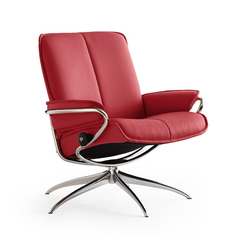 Rode stressless relaxfauteuil City