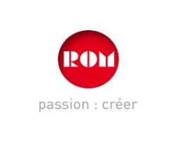 Logo Rom, passion : créer