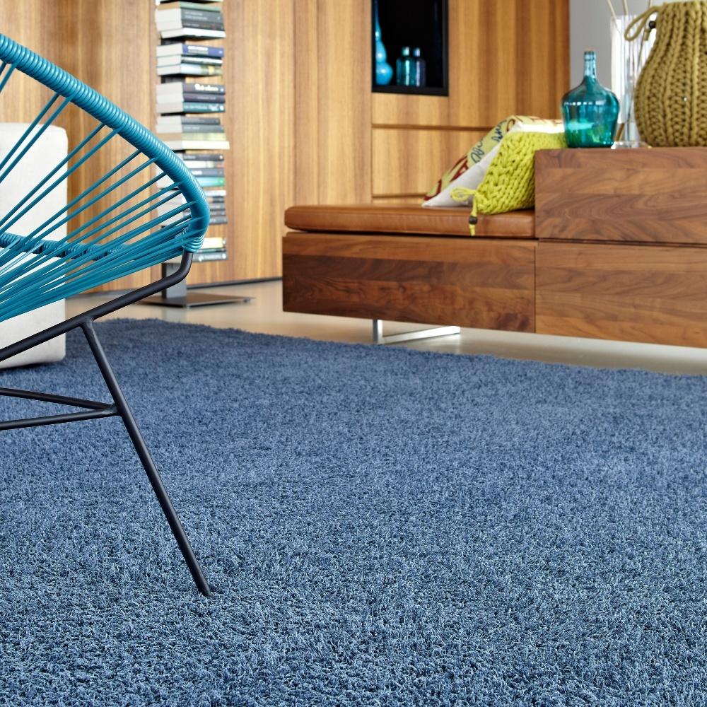 Blauw Chinchilla tapijt