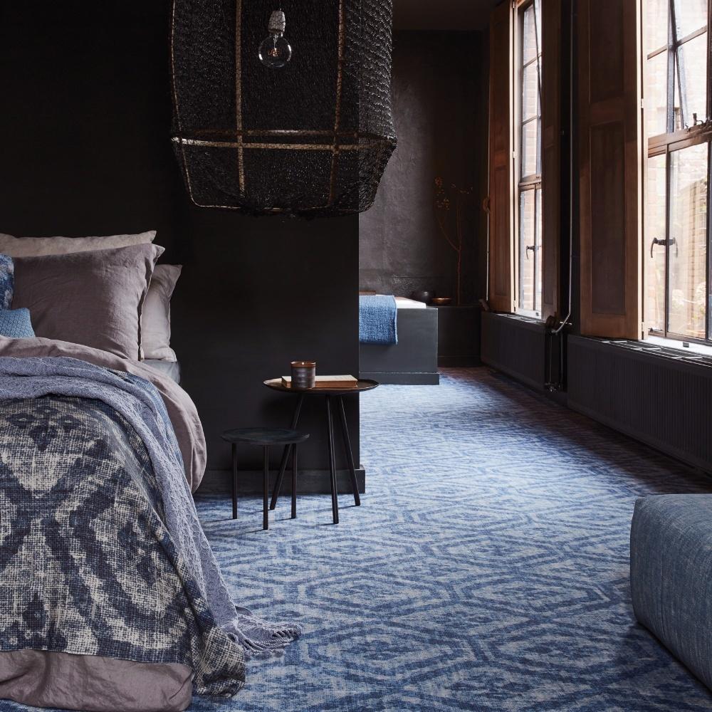 Desso&Ex tapijt blauw