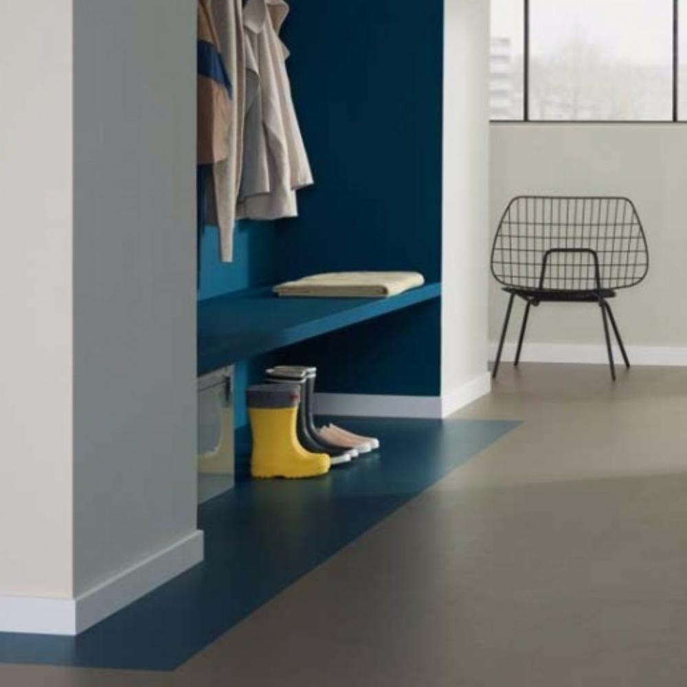 Forbo Marmoleum vloer in verschillende kleuren