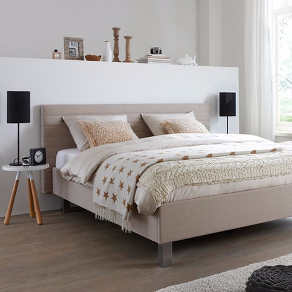 Tempur Flex Design bed - beige